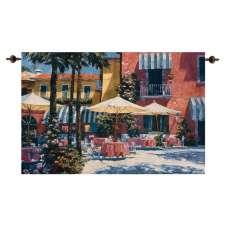 Inn at Lake Garda Fine Art Tapestry