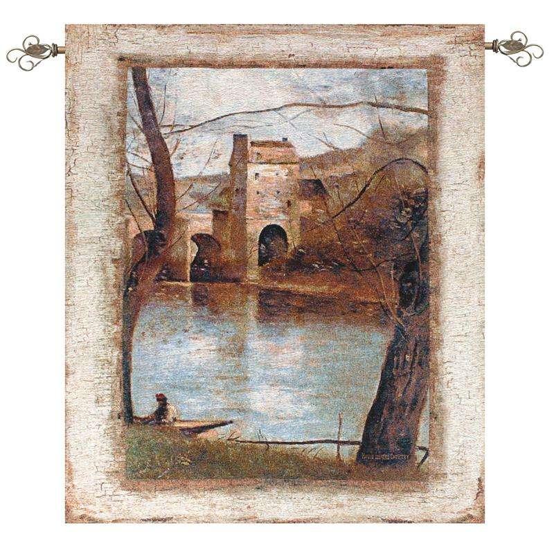 The Bridge Fine Art Tapestry