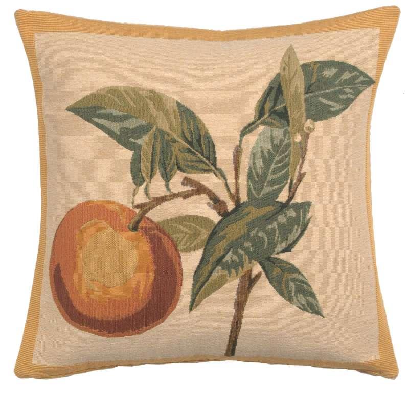 Redoute-Orange European Cushion Cover