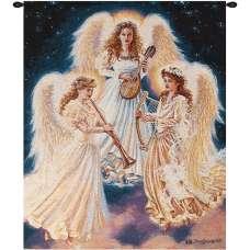 Choir of Angels Fine Art Tapestry