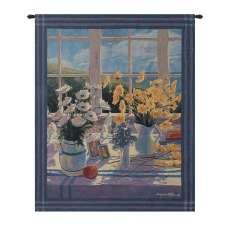 Yellow Daisies Fine Art Tapestry