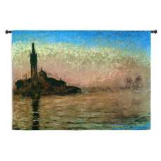 Evening in Venice Tapestry Wall Hanging