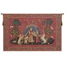 Desire A Mon Seul Desir European Tapestry Wall Hanging