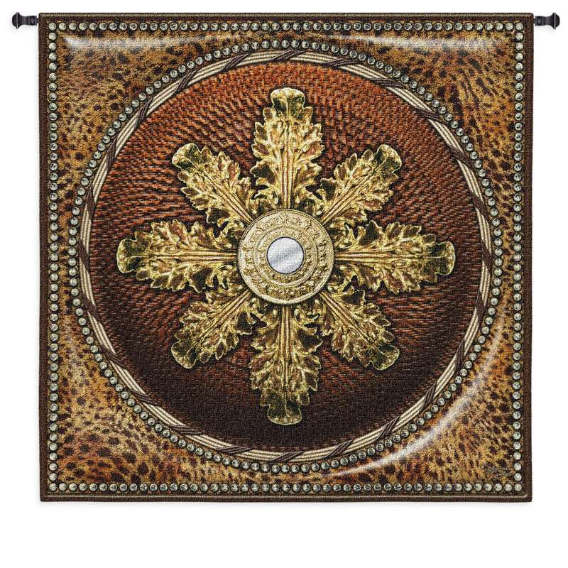 Leopard Mirror Tapestry Wall Hanging