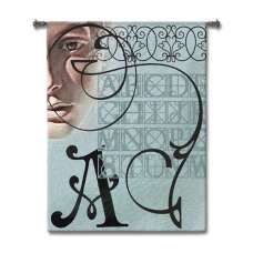 Alpha Man Tapestry Wall Hanging