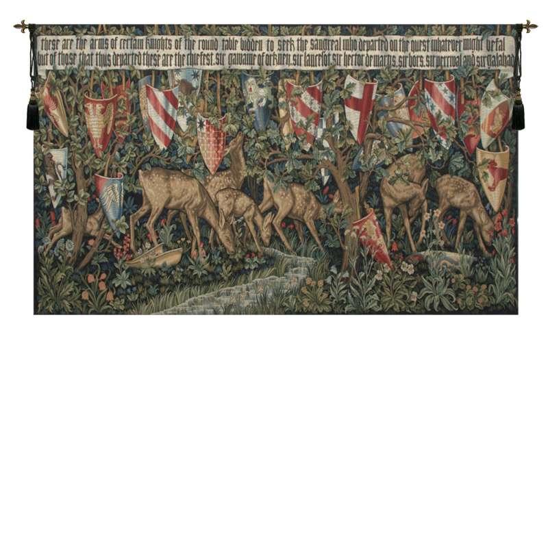 Verdure with Reindeer European Tapestry