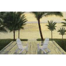 Palm Beach Retreat Fine Art Tapestry