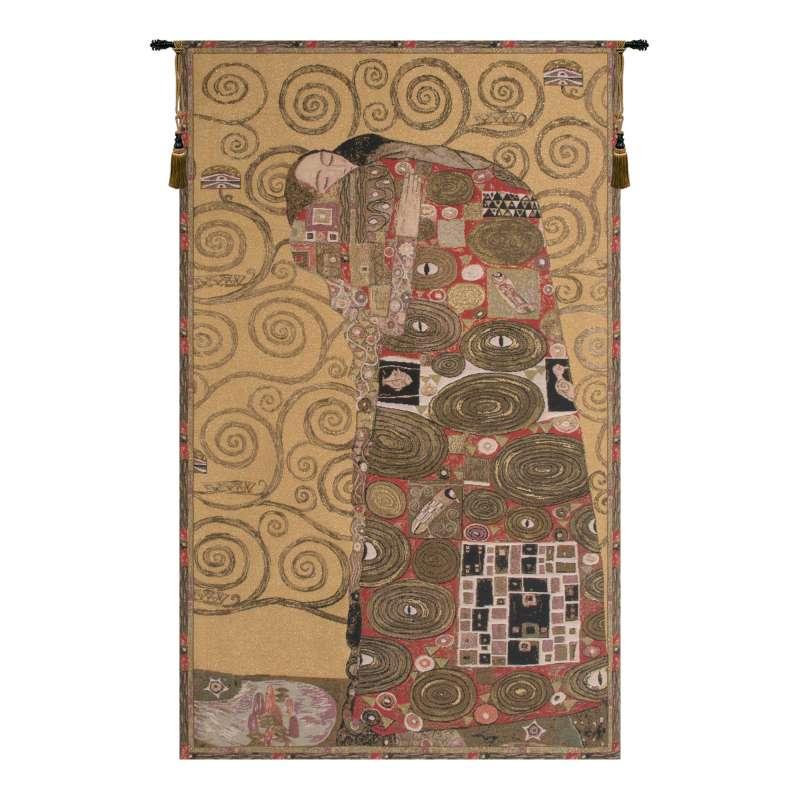 Accomplissement by Klimt II European Tapestry