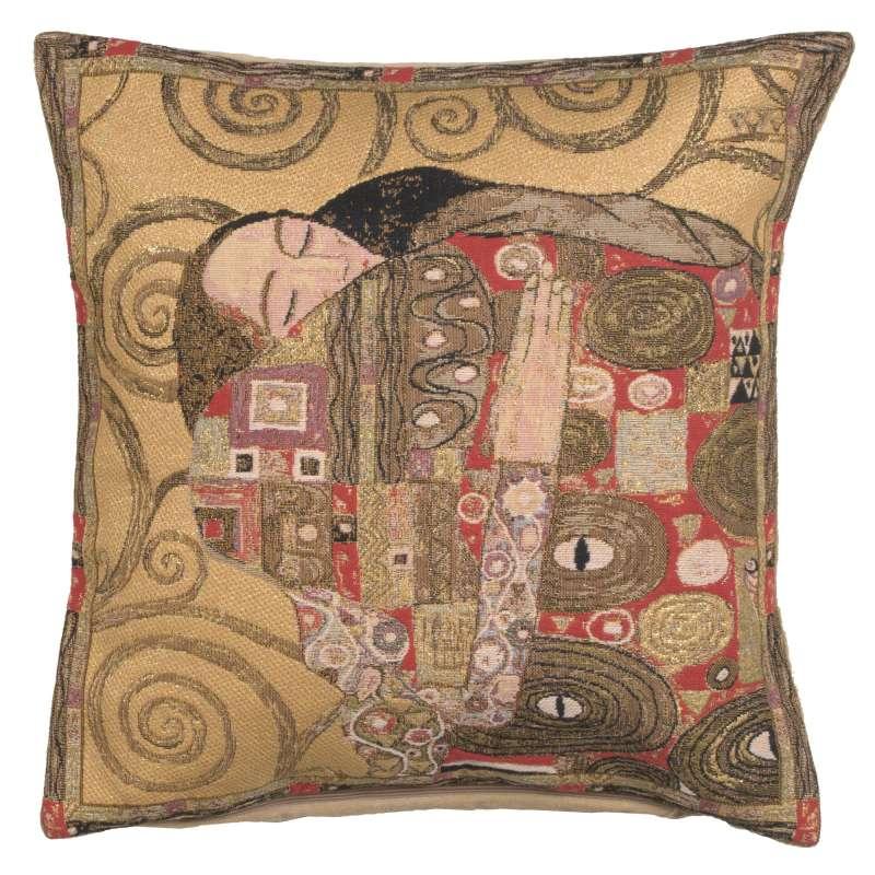 The Accomplissement Gold European Cushion Cover