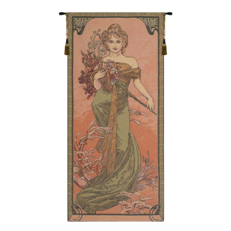 Mucha Spring European Tapestry