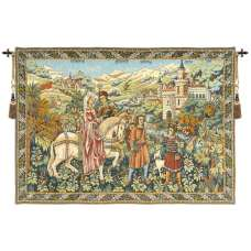 Duc de Berry French Tapestry Wall Hanging