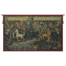 Les Chevaliers de la Table Ronde French Tapestry Wall Hanging
