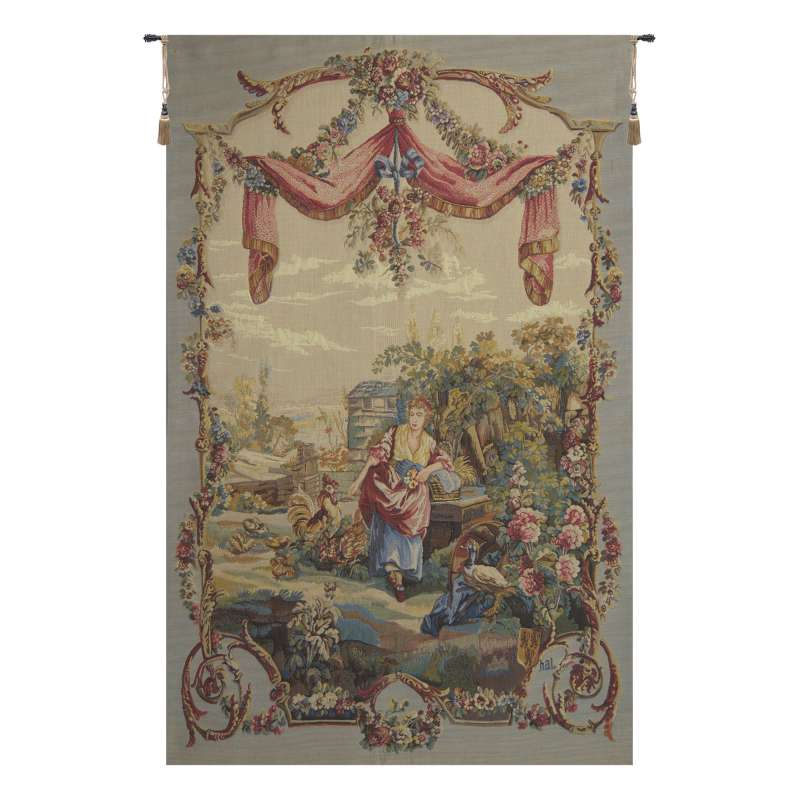 Flanerie French Tapestry Wall Hanging