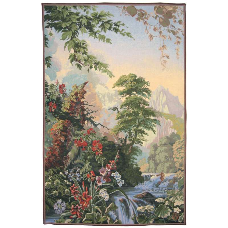 Agapanthes French Tapestry Wall Hanging