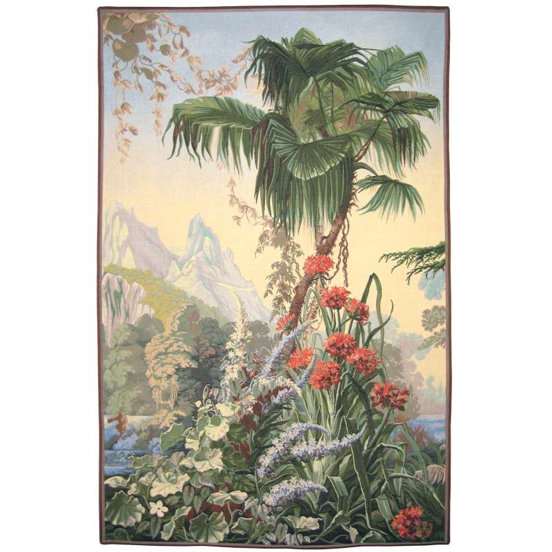 Amaryllis French Tapestry Wall Hanging