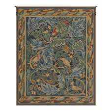Les Oiseaux de William Morris French Tapestry Wall Hanging