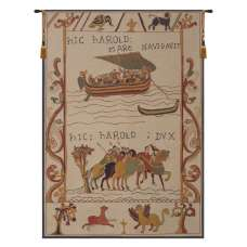 Harold et William Harold and William French Tapestry Wall Hanging