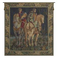 Les Chevaliers French Tapestry Wall Hanging