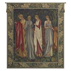 The Ladies of Camelot Les Dames de Camelot French Tapestry Wall Hanging