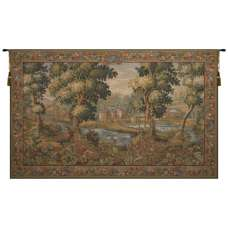 Verdure Chantilly French Tapestry Wall Hanging