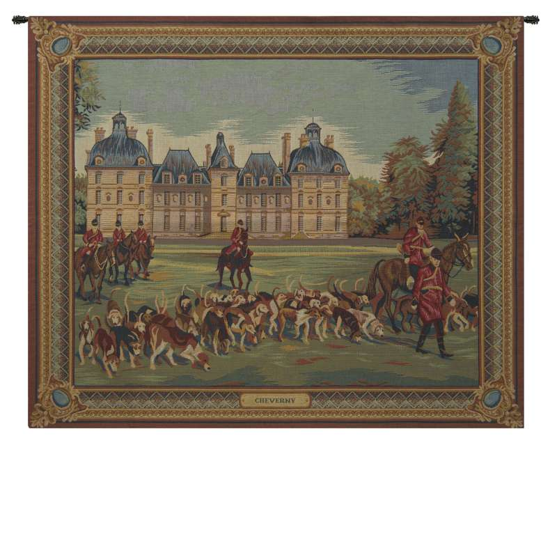Cheverny Castle French Tapestry Wall Hanging