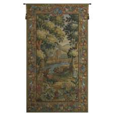 Verdure Hautil French Tapestry Wall Hanging