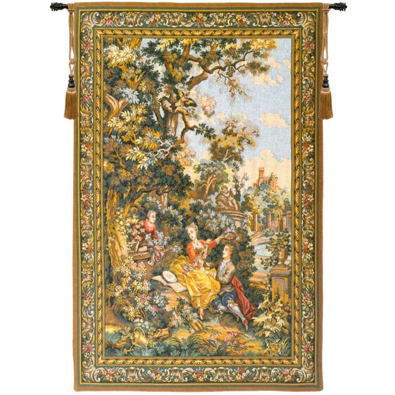 The Indiscretion French Tapestry Wall Hanging