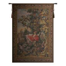 L' Escarpolette French Tapestry Wall Hanging