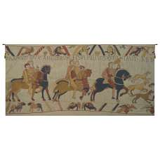 Harold Le Conquerant French Tapestry Wall Hanging