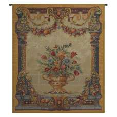 Jardin Beusmesnil French Tapestry Wall Hanging