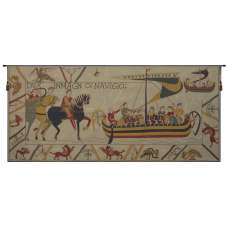 L'Embarquement French Tapestry Wall Hanging