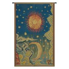 Summer L'ete French Tapestry Wall Hanging
