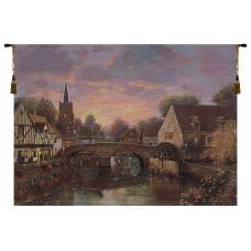 The Mill Pond Fine Art Tapestry