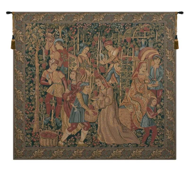 Vendage Right Panel European Tapestry