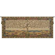 Tree of Life by Klimt I Italian Tapestry Wall Hanging