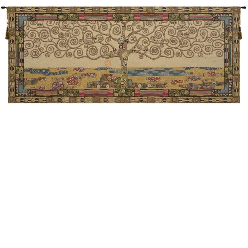 Tree of Life by Klimt I Italian Tapestry