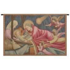 Nativity Giotto Italian Tapestry Wall Hanging