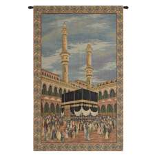 Mecca I Italian Tapestry Wall Hanging
