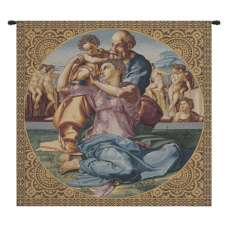 The Holy Family Italian Tapestry Wall Hanging