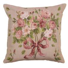 Bouquet De Roses French Tapestry Cushion