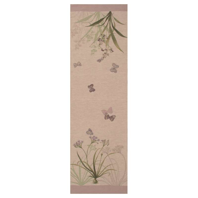 Herbarium Clear French Tapestry Table Runner