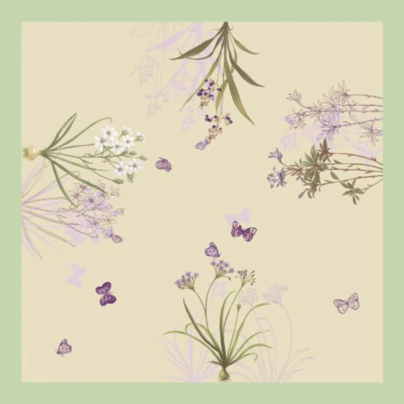 Jete Herbier French Tapestry Throw