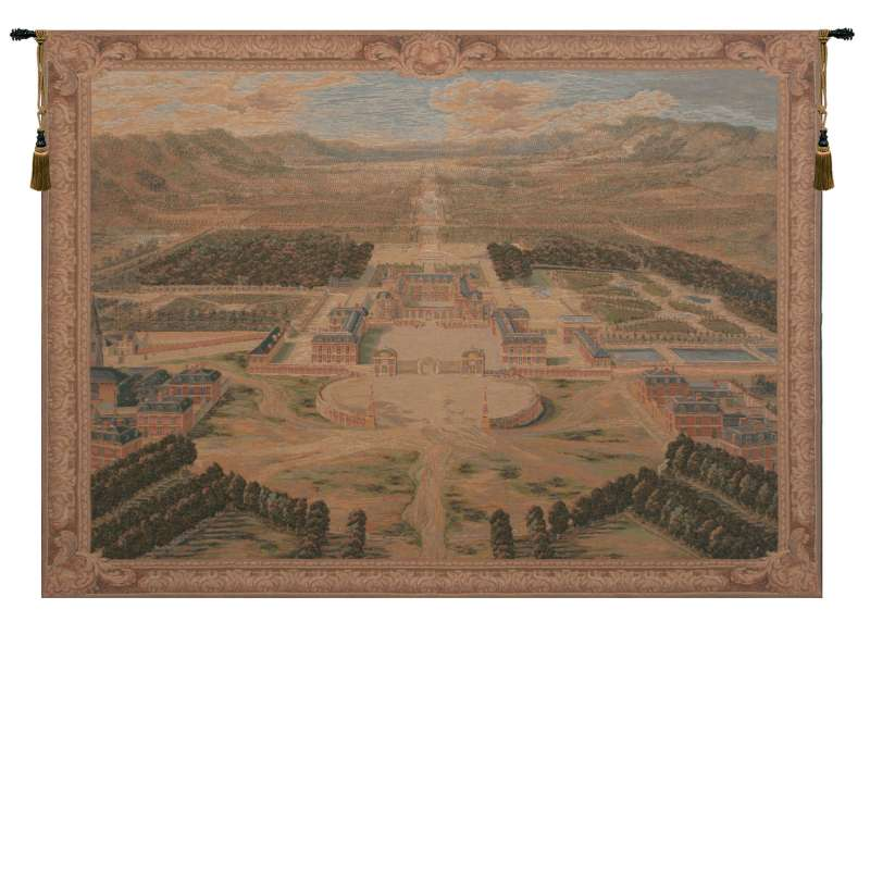Versailles Castle XVII French Tapestry