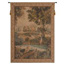 Verdure Aux Oiseaux I French Tapestry