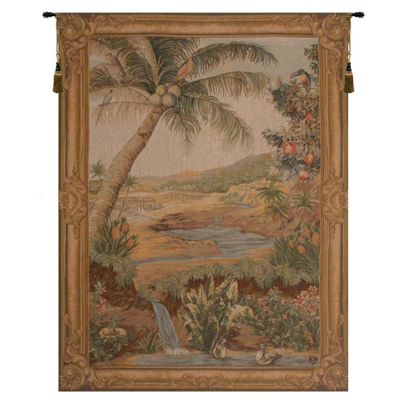 L'Oasis French Tapestry