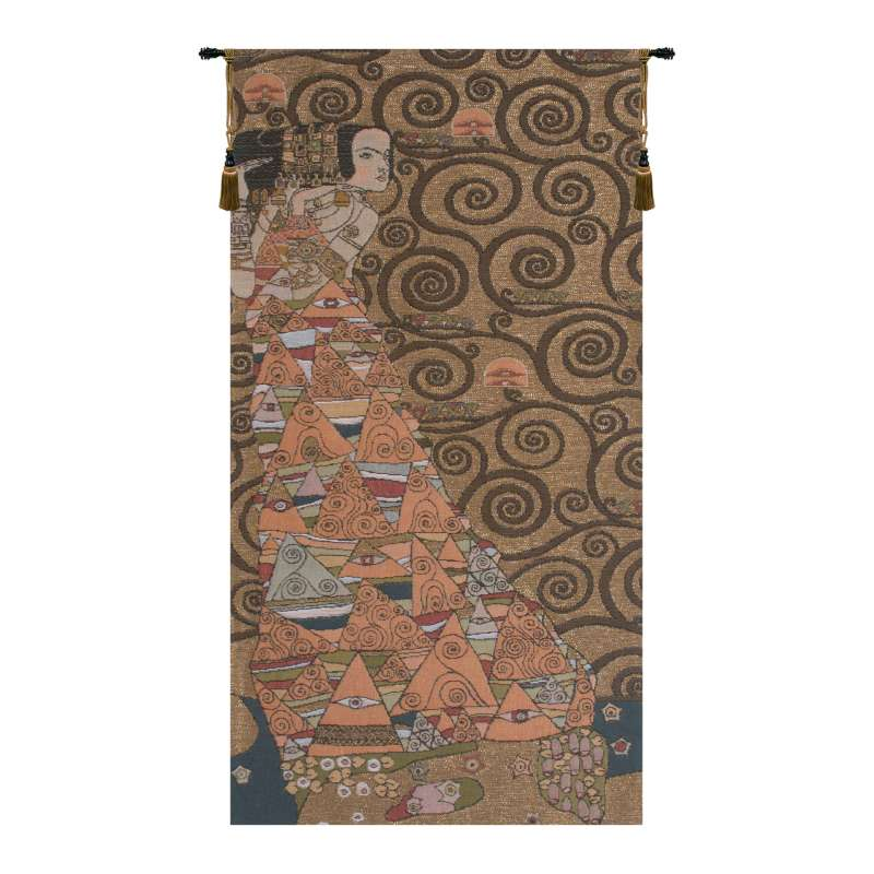 L'Attente Klimt a Gauche Or French Tapestry