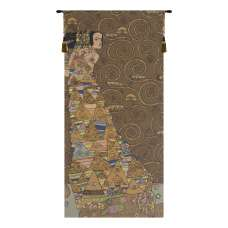 L'Attente Klimt a Gauche Fonce French Tapestry