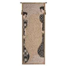 Klimt Silhouettes French Tapestry