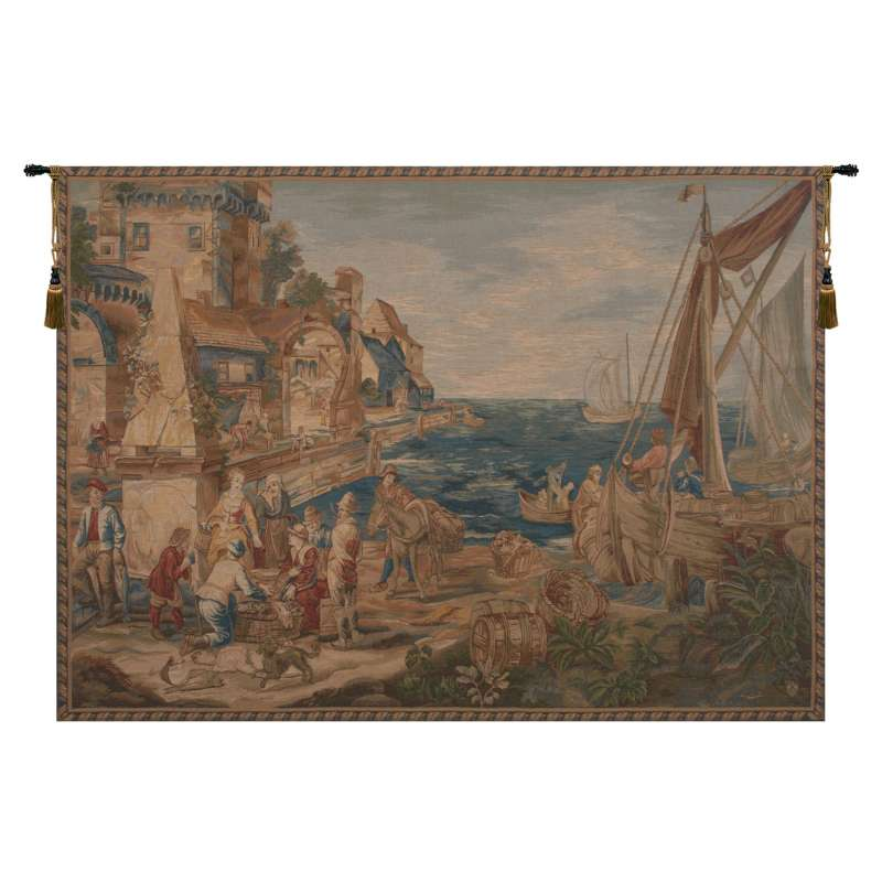 Return of Peche French Tapestry