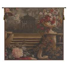 Bouquet at the Gazebo French Tapestry